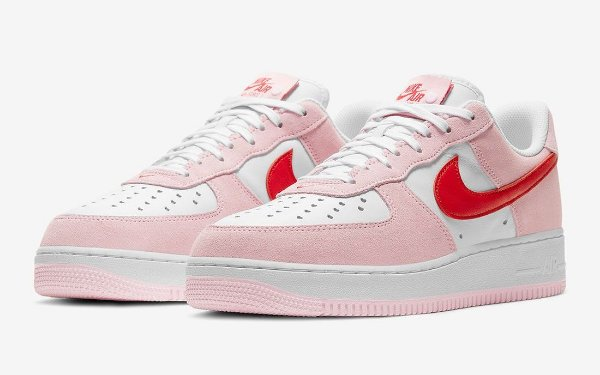 "!NIKE - Air Force 1 Low 07 QS ""Valentine's Day Love Letter"" (40,5 BR / 9 US) -NOVO-"
