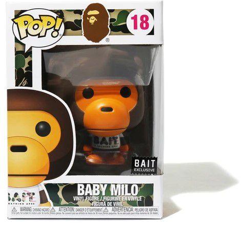 !FUNKO POP! - Boneco BAPE: Baby Milo #18 (Bait Exclusive) -NOVO-