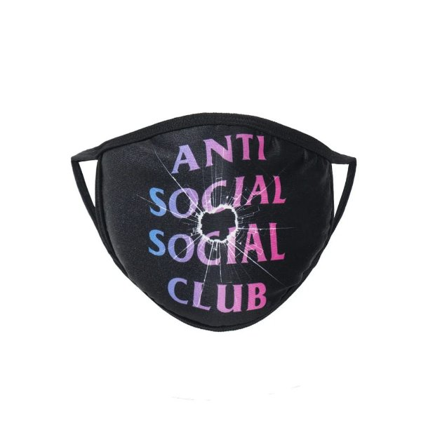 "!ANTI SOCIAL SOCIAL CLUB - Máscara Tongue Tied ""Preto"" -NOVO-"