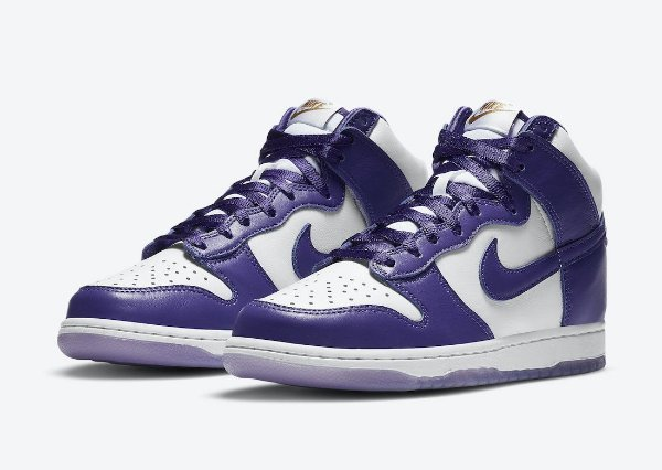 "NIKE - Dunk High SP ""Varsity Purple"" -NOVO-"