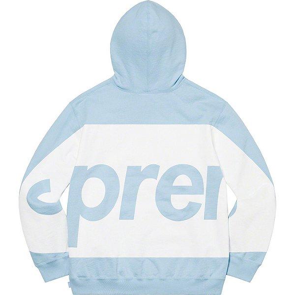 "ENCOMENDA - SUPREME - Moletom Big Logo ""Azul Claro"" -NOVO-"