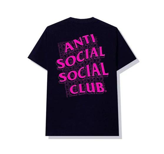 "ANTI SOCIAL SOCIAL CLUB - Camiseta Scrambled Eggs ""Marinho"" -NOVO-"