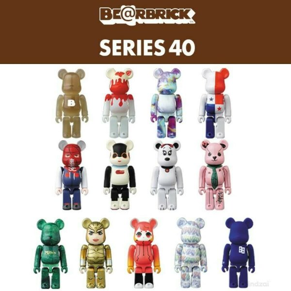 !BEARBRICK - Boneco Series 40 Blind Box -NOVO-