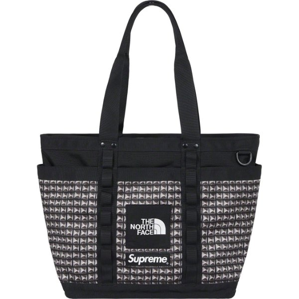 "ENCOMENDA - SUPREME x THE NORTH FACE - Bolsa Studded Explore Utility ""Preto"" -NOVO-"