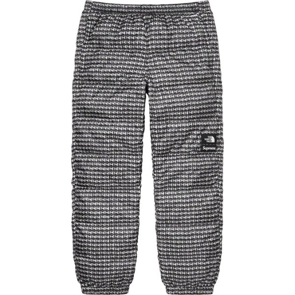 "ENCOMENDA - SUPREME x THE NORTH FACE - Calça Studded Nuptse ""Preto"" -NOVO-"
