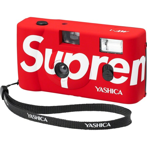 """ENCOMENDA - SUPREME x YASHICA - Camera MF-1 """"Vermelho"""" -NOVO-"""