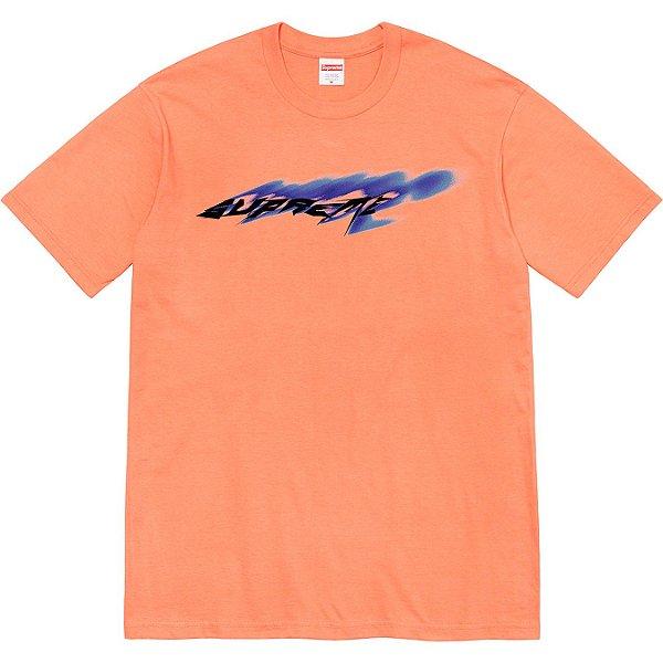 """ENCOMENDA - SUPREME - Camiseta Wind """"Laranja"""" -NOVO-"""