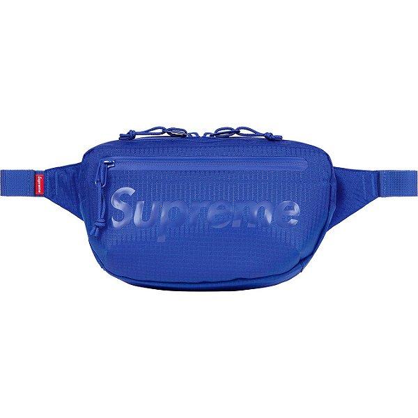 "ENCOMENDA - SUPREME - Pochete Waist Bag SS21 ""Azul"" -NOVO-"