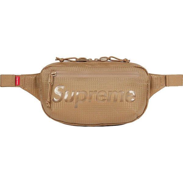 """ENCOMENDA - SUPREME - Pochete Waist Bag SS21 """"Bege"""" -NOVO-"""