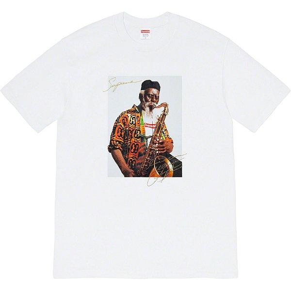 """SUPREME - Camiseta Pharoah Sanders """"Branco"""" -NOVO-"""