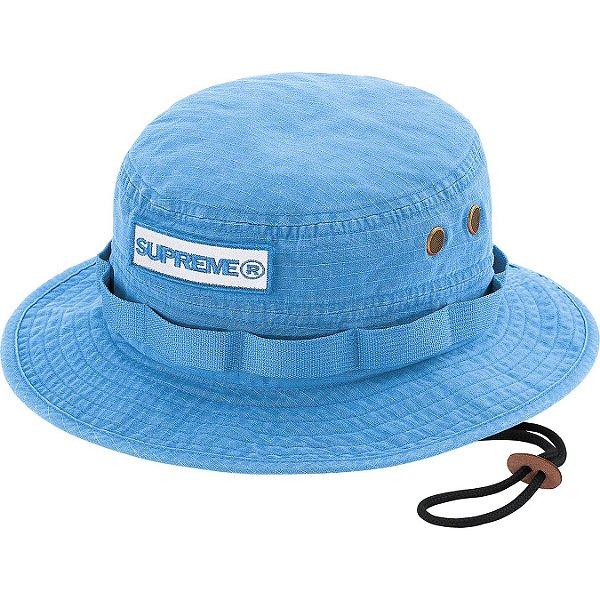 "ENCOMENDA - SUPREME - Chapéu Bucket Reflective Patch ""Azul"" -NOVO-"