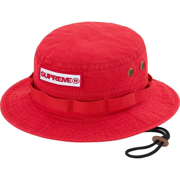 "ENCOMENDA - SUPREME - Chapéu Bucket Reflective Patch ""Vermelho"" -NOVO-"