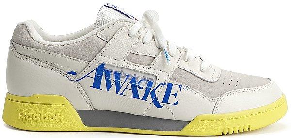 """REEBOK x AWAKE NY - Workout Lo Plus """"Chalk"""" -NOVO-"""