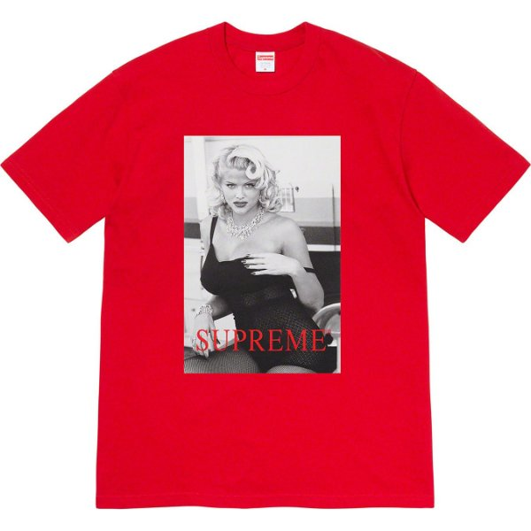 "ENCOMENDA - SUPREME - Camiseta Anna Nicole Smith ""Vermelho"" -NOVO-"
