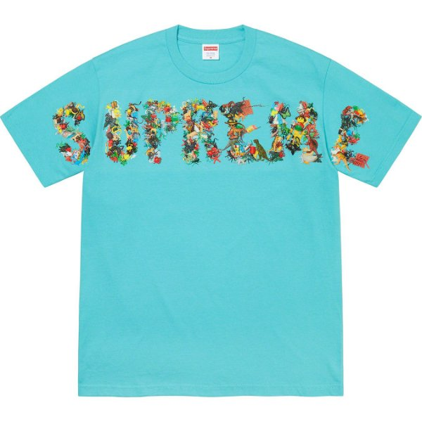 "ENCOMENDA - SUPREME - Camiseta Toy Pile ""Azul Claro"" -NOVO-"