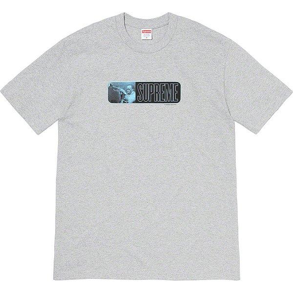 "ENCOMENDA - SUPREME - Camiseta Miles Davis ""Cinza"" -NOVO-"