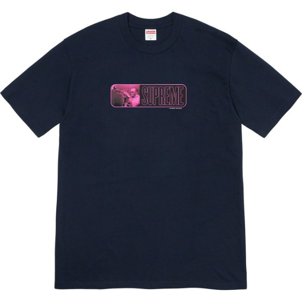 "ENCOMENDA - SUPREME - Camiseta Miles Davis ""Marinho"" -NOVO-"