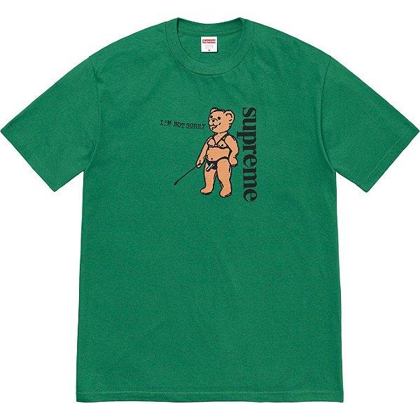 "ENCOMENDA - SUPREME - Camiseta Not Sorry ""Verde"" -NOVO-"