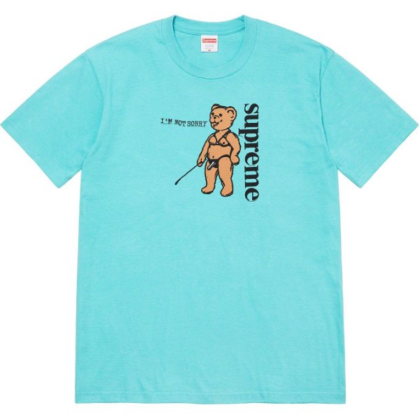"ENCOMENDA - SUPREME - Camiseta Not Sorry ""Azul Claro"" -NOVO-"