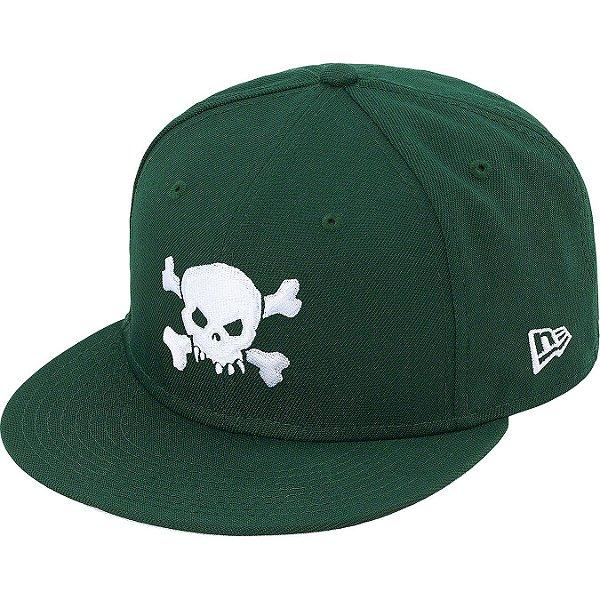 "ENCOMENDA - SUPREME x NEW ERA - Boné Skull ""Verde"" -NOVO-"