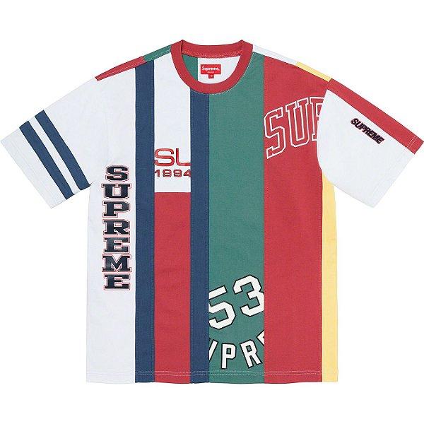 """ENCOMENDA - SUPREME - Camiseta Reconstructed """"Vermelho"""" -NOVO-"""