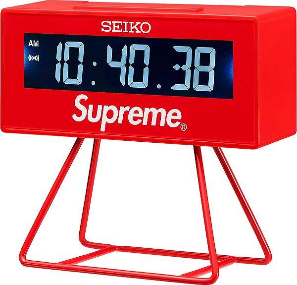 """ENCOMENDA - SUPREME x SEIKO - Relógio Marathon Clock """"Vermelho"""" -NOVO-"""