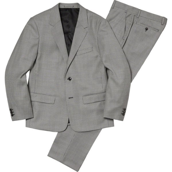 "ENCOMENDA - SUPREME - Terno Wool Suit ""Houndstooth"" -NOVO-"