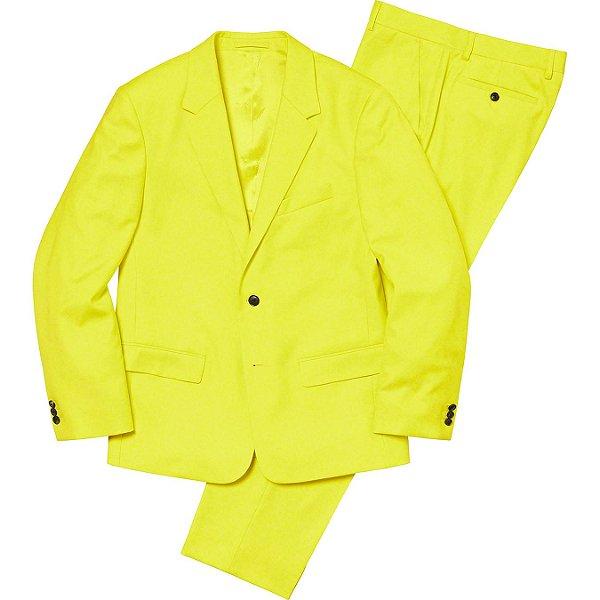 "ENCOMENDA - SUPREME - Terno Wool Suit ""Amarelo"" -NOVO-"