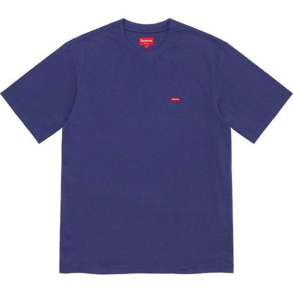 "ENCOMENDA - SUPREME - Camiseta Small Box ""Marinho"" -NOVO-"