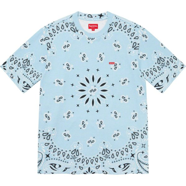"ENCOMENDA - SUPREME - Camiseta Small Box ""Bandana Azul"" -NOVO-"