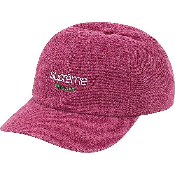 "ENCOMENDA - SUPREME - Boné 6-Panel Classic Logo ""Rosa"" -NOVO-"