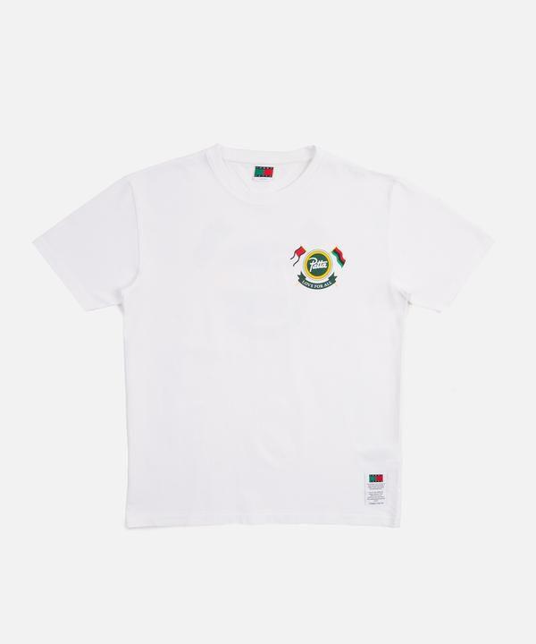 """!PATTA x TOMMY HILFIGER - Camiseta Shield """"Branco"""" -NOVO-"""