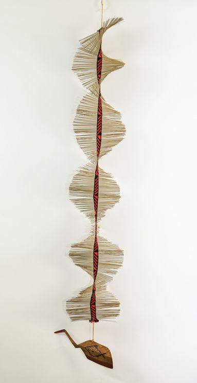 Móbile Indígena com desenho de peixe 1 - Tribo Mehinako