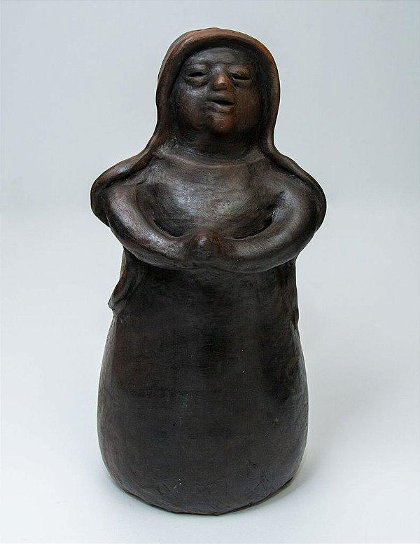 Escultura da Virgem Maria -  Artista Paraguaia Ediltrudis Noguera