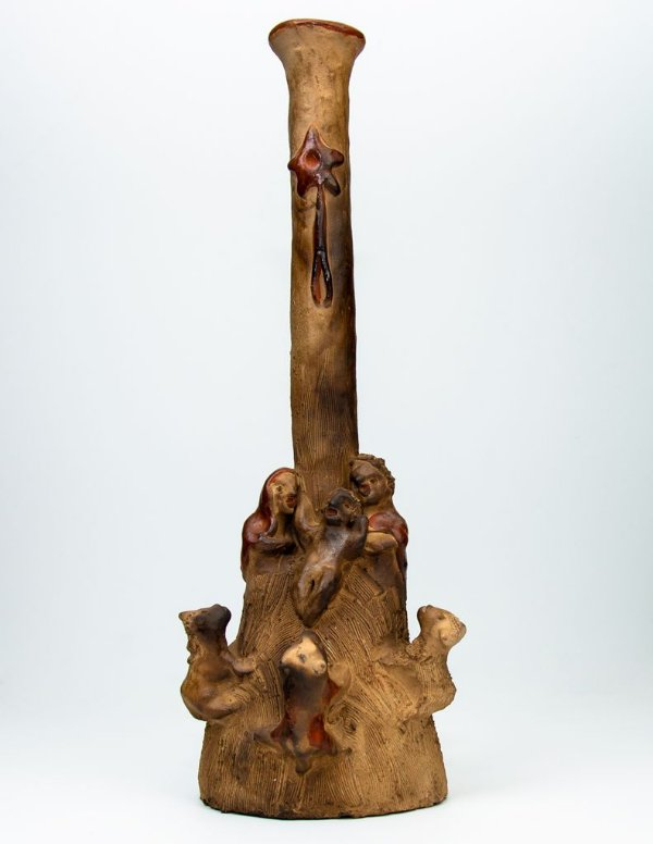 Escultura Nascimento de Jesus - Julia Isídrez