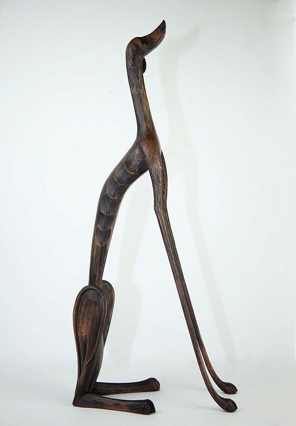 Escultura de Cão (Grande) - Marcos Paulo Lau da Costa