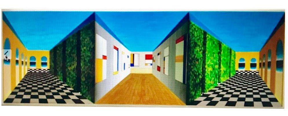 Quadro Tridimensional I - Sandra Naddeo