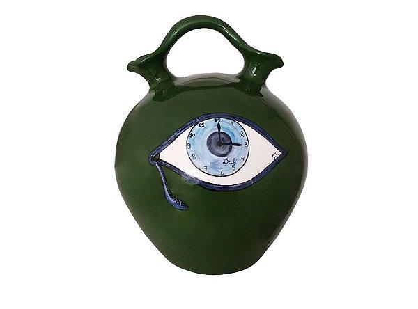 Vaso Verde Dalí - Silvana Tinelli