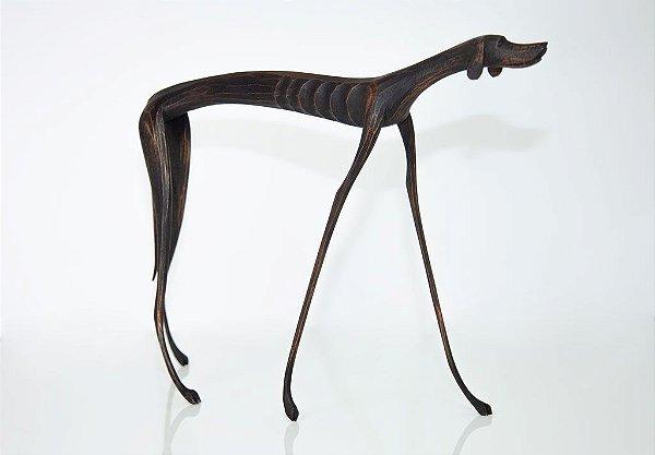Escultura de Cão - Marcos Paulo Lau da Costa