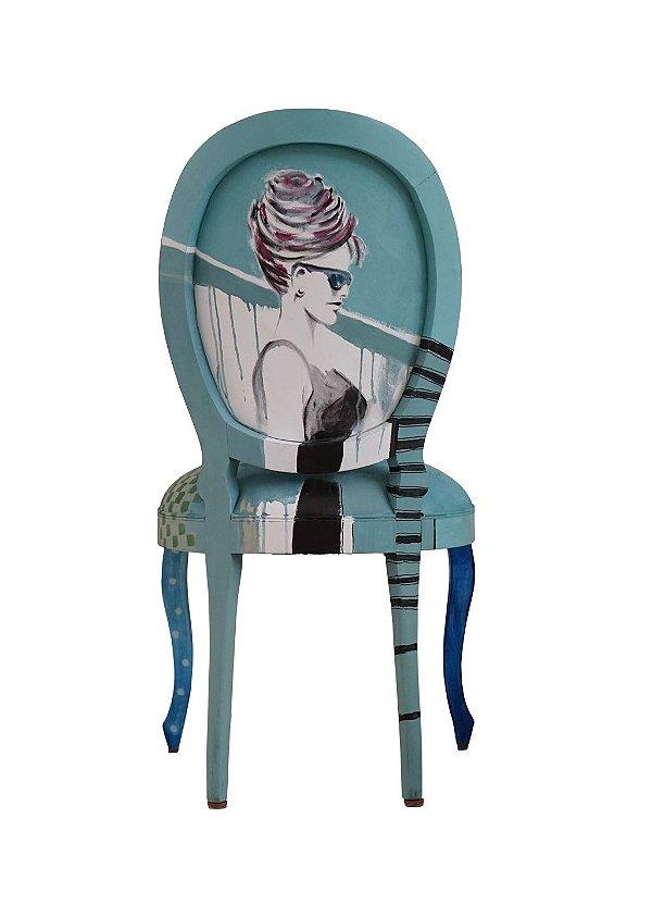 Cadeira Audrey Hepburn - Eliane Goes
