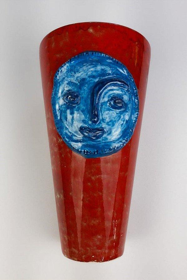Vaso de cerâmica Lua - Silvana Tinelli