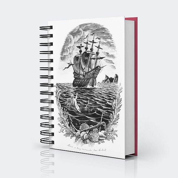 Caderno Sereia (Coleção 2019) de Rex Whistler