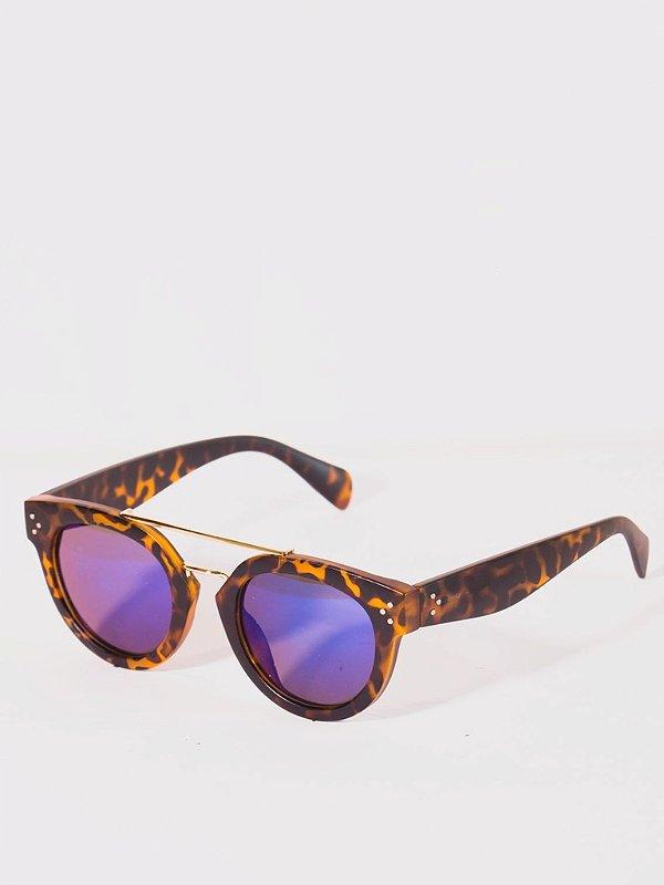 Óculos de Sol Zocla   Retro Tartaruga