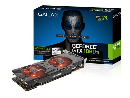 Geforce Galax Nvidia Gtx 1080Ti Exoc 11Gb Ddr5 352Bit 11.010Mhz