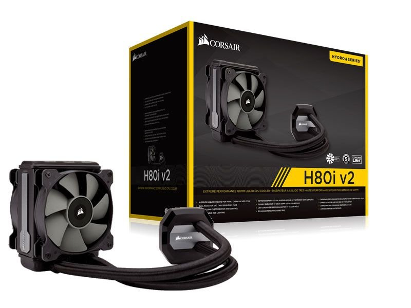 Hydro Cooling Corsair H80I V2 Radiador 120Mm
