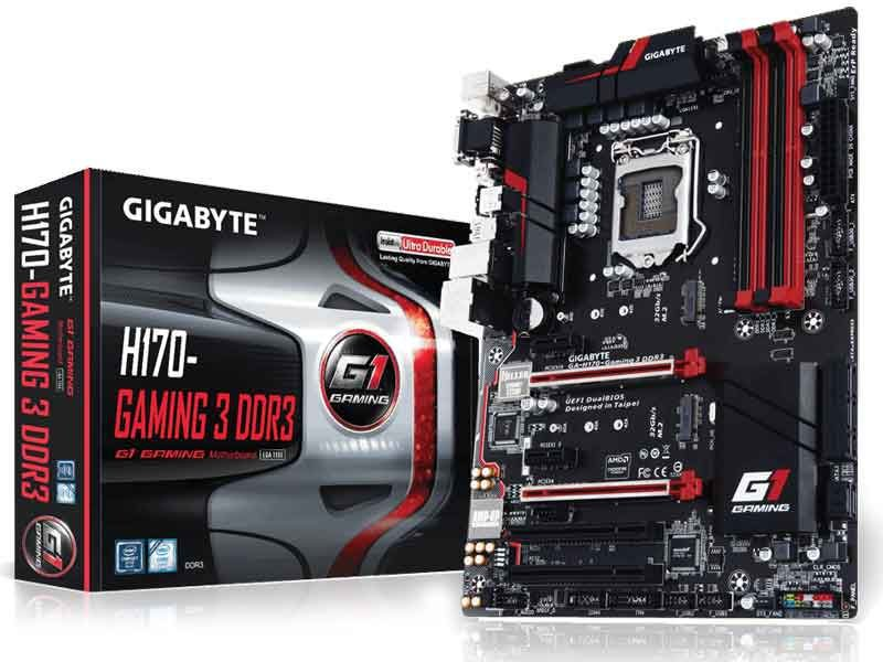 Placa Mãe Lga 1151 Intel Gigabyte Ga-H170-Gaming 3 Atx Ddr3 Crossfire
