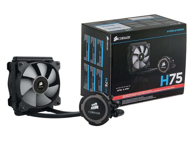 Hydro Cooling Corsair CW-9060015-WW H75 Radiador 120Mm