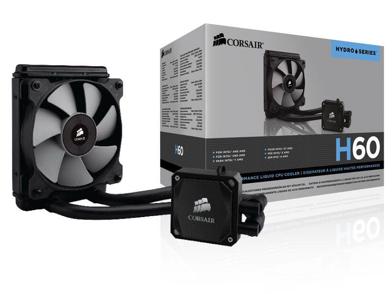 Hydro Cooling Corsair CW-9060007-WW H60 Radiador De 120Mm