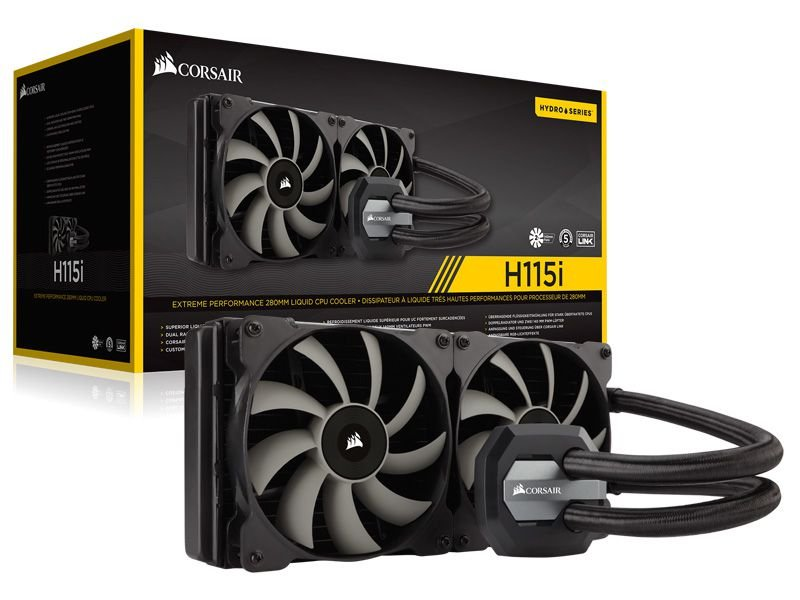 Hydro Cooling Corsair H115I Radiador De 280Mm