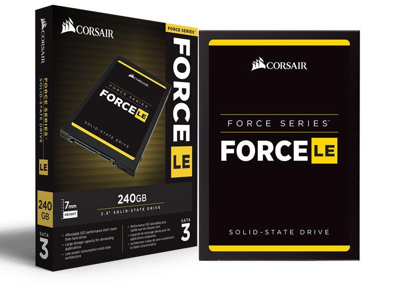 "Ssd Desktop Notebook Corsair Force Le200 240Gb 2.5"" Sata Iii 6Gb/S Box"